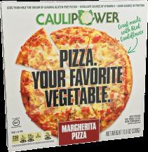 Caulipower Cauliflower Crust Margherita Pizza 11.6 oz product image.