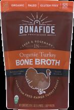 Organic Turkey Bone Broth product image.