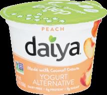 Peach Coconut Yogurt Alternative product image.