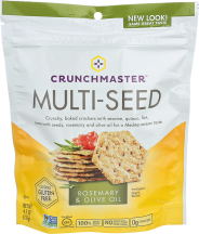 Crunchmaster Multi-Seed Crackers 4.5 oz. product image.