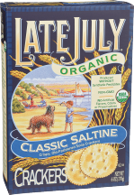 Organic Crackers product image.