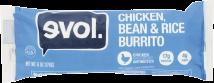 Chicken, Bean & Rice Burrito product image.