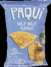 Paqui Tortilla Chip Wild Wild Ranch 5.5 oz product image.