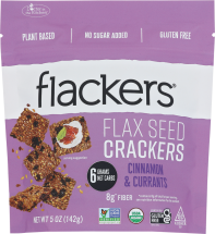 Organic Cinnamon & Currants Crackers product image.