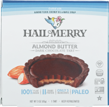 Hail Merry Chocolate Almond Butter Tart 1 each product image.