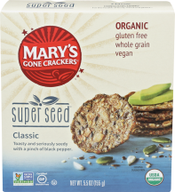 Mary's Gone Crackers Crackers 5.5 oz. product image.