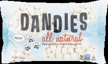Dandies Mini Marshmallows 10 oz. product image.