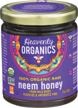 Raw, Organic Neem Honey product image.