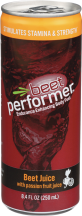 Beet Performer Beet Juice With Passion Fruit Juice 8.4 fl oz. product image.