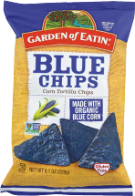 Garden Of Eatin Assorted Tortilla Chips 8.1 oz product image.