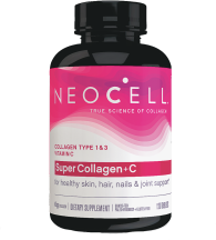Neocell Super Collagen+C Type 1 & 3, Total Body Health 120 tablets product image.