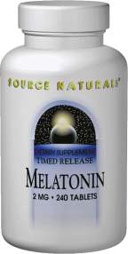 Melatonin product image.