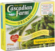 Cascadian Farms Asparagus Cuts 9 OZ product image.