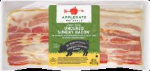 Applegate Farms Sunday Bacon Applewood Smoked, Antibiotic Free 8 oz. product image.