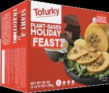 Tofurky Vegetarian Feast Tofu Roast, Cranberry-Apple, Potato Dumplings 3 lb. 8 oz. product image.