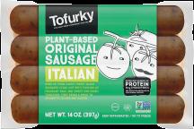Plant-Based Original Sausage product image.