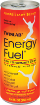 Twinlab Energy Fuel High Performance Drink Carbonated Fruit Splash 8.4 fl. oz. product image.