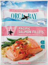 Orca Bay FISH FILLET SALMON PACIFIC 10 OZ  product image.