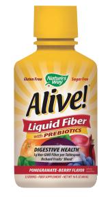 Alive!® LiquidFiber Pomegranate-Berry product image.