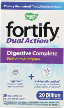 Fortify Dual Action Digestive Complete  product image.