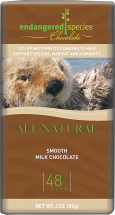 Endangered Species Chocolate Bars Assorted 3 oz. product image.