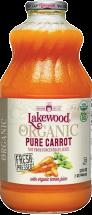 Lakewood Organic Juice Pure Carrot 32 fl. oz. product image.