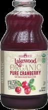 Organic Pure Cranberry Juice product image.