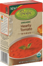 Pacific Foods SOUP TOMATO 17.6 OZ  product image.