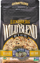 Lundberg Wild Blend Rice Blend Blend of Wild & Whole Grain Brown Rice 16 oz. product image.