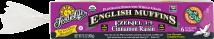 Organic Ezekiel 4:9® Cinnamon Raisin Sprouted Whole Grain English Muffins product image.