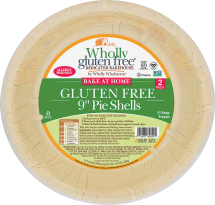Wholly Wholesome Gluten Free Pie Shells 14.9 oz product image.
