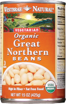 Westbrae Assorted Beans 15 oz product image.