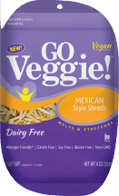 Dairy-Free Mexican Cheese Shreds product image.