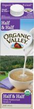 Organic Half & Half (selected varieties) product image.