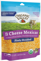 Organic Shredded Cheese product image.