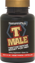 Nature's Plus T Male Testosterone Boost For Men. 60 product image.