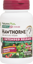 Nature's Plus Herbal Actives Hawthorne 30 tablets product image.