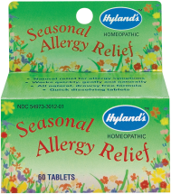 Hyland's Seasonal Allergy Relief 60 tablets product image.