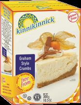 Kinnikinnick Graham Cracker Style Crumbs 10.5 oz product image.
