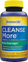 Renew Life Cleansemore 60 caps product image.