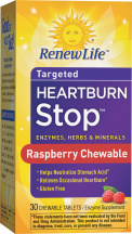 Renew Life Heartburn Stop 30 tablets product image.