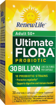 Ultimate Flora 50+ 30 Billion product image.