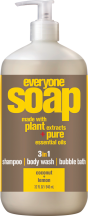Everyone Soap Coconut Lemon product image.