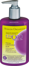 Avalon Organics CoQ10 Enzyme Skin Care Facial Cleansing Milk 8.5 fl. oz. product image.