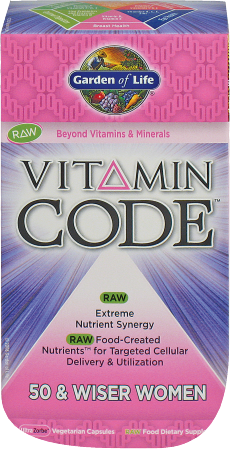Vitamin Code 50 And Wiser  product image.