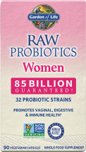 Raw Probiotics Women product image.