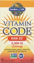 Vitamin Code Raw D3 product image.