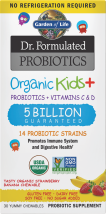 Dr Formulated Probiotics Organic Kids+ product image.