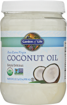 Raw Virgin Coconut Oil product image.