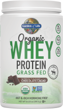 Garden Of Life Organic Whey Protein Grass Fed 14.03 oz. product image.